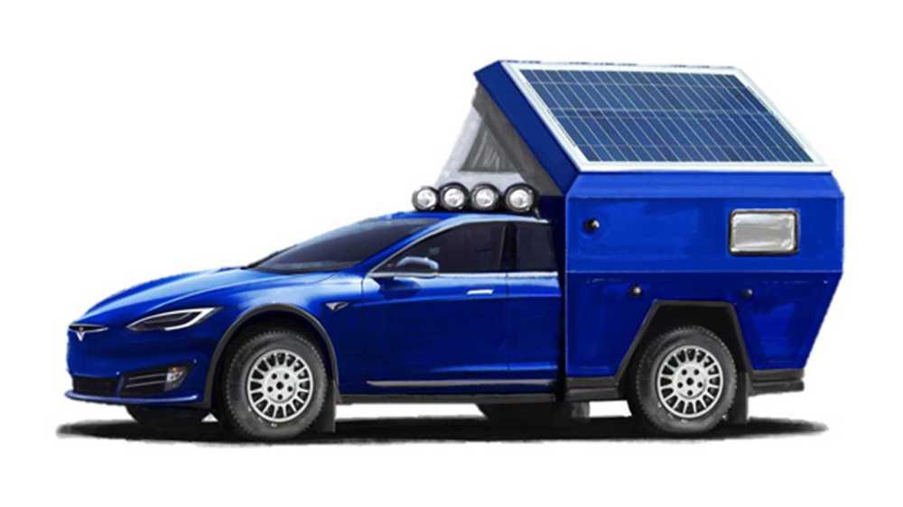 camping-car Tesla Model S