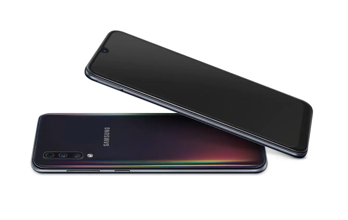 Samsung Galaxy A50 test