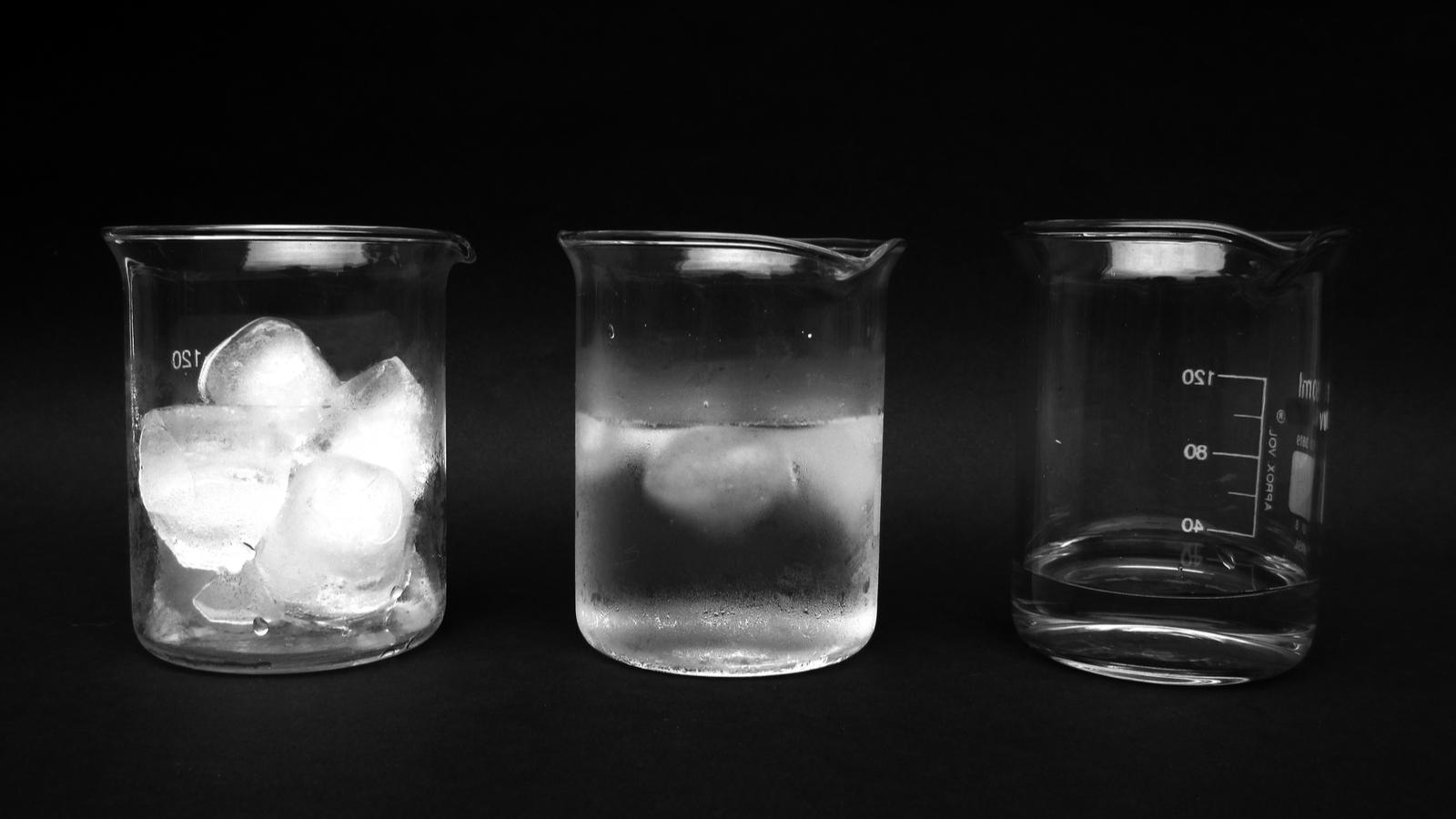 Solide Et Liquide  U00e0 La Fois   Des Scientifiques D U00e9couvrent