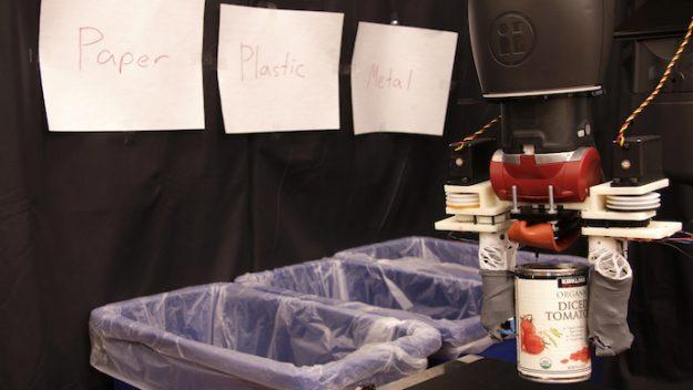 Robot recycleur