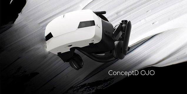 Acer ConceptD OJO, un nouveau casque VR 4K conçu pour les designers