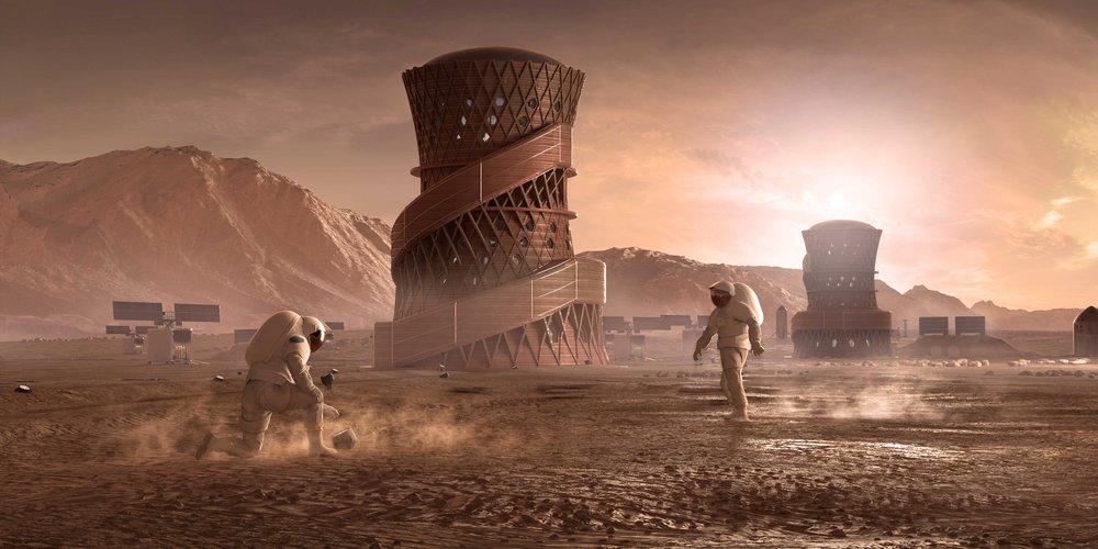 SEArch+ habitation Mars