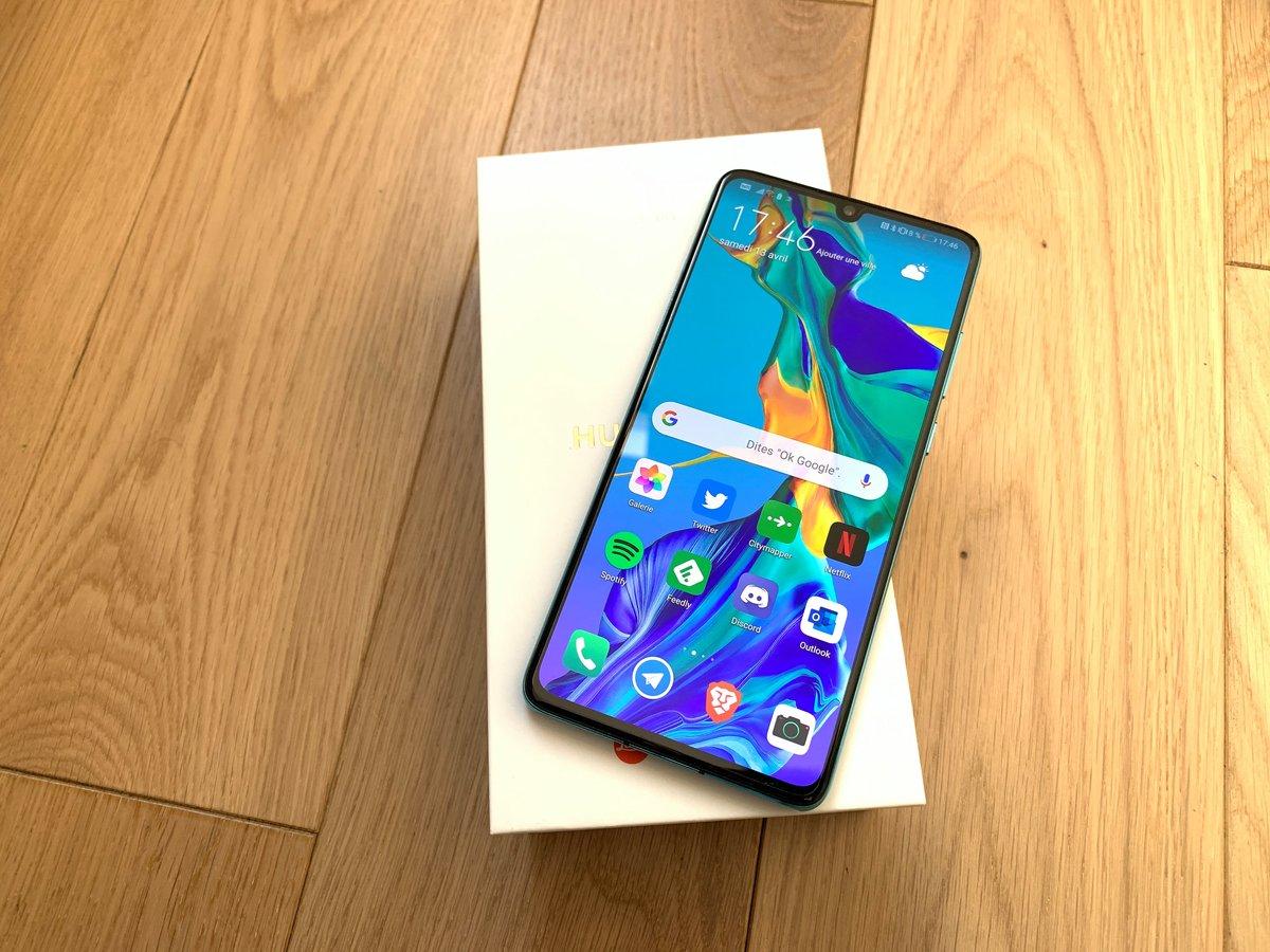 Huawei P30 test