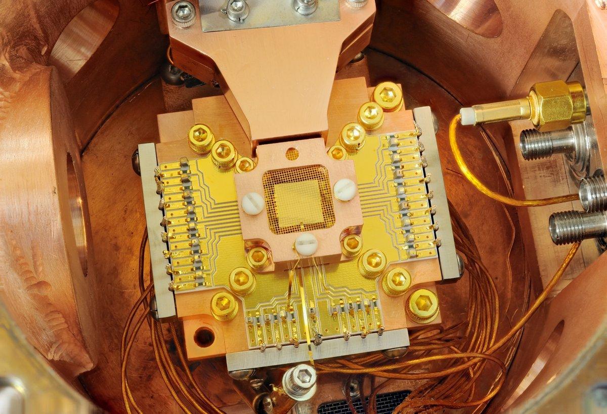 Quantum Computing Iron Taping