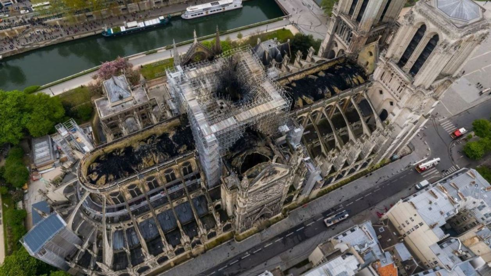Notre-Dame de Paris : Drones, robots... La technologie de plus en plus sollicitée par les secours