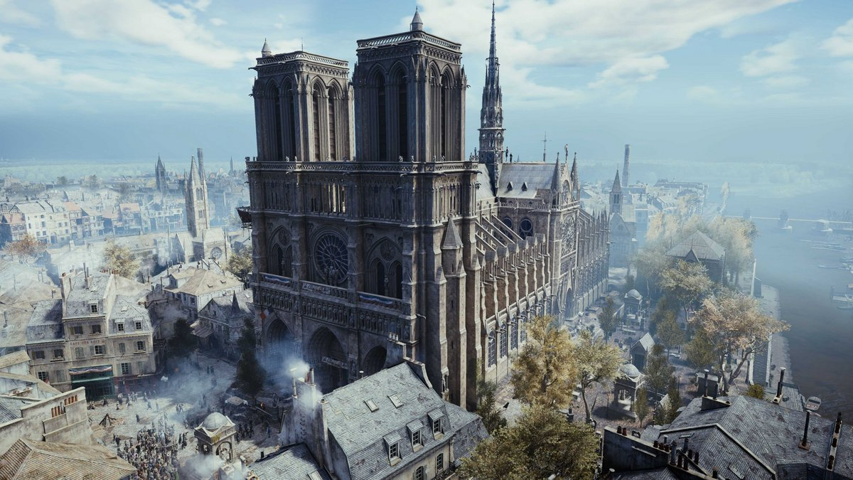 Notre-Dame Assassin's Creed