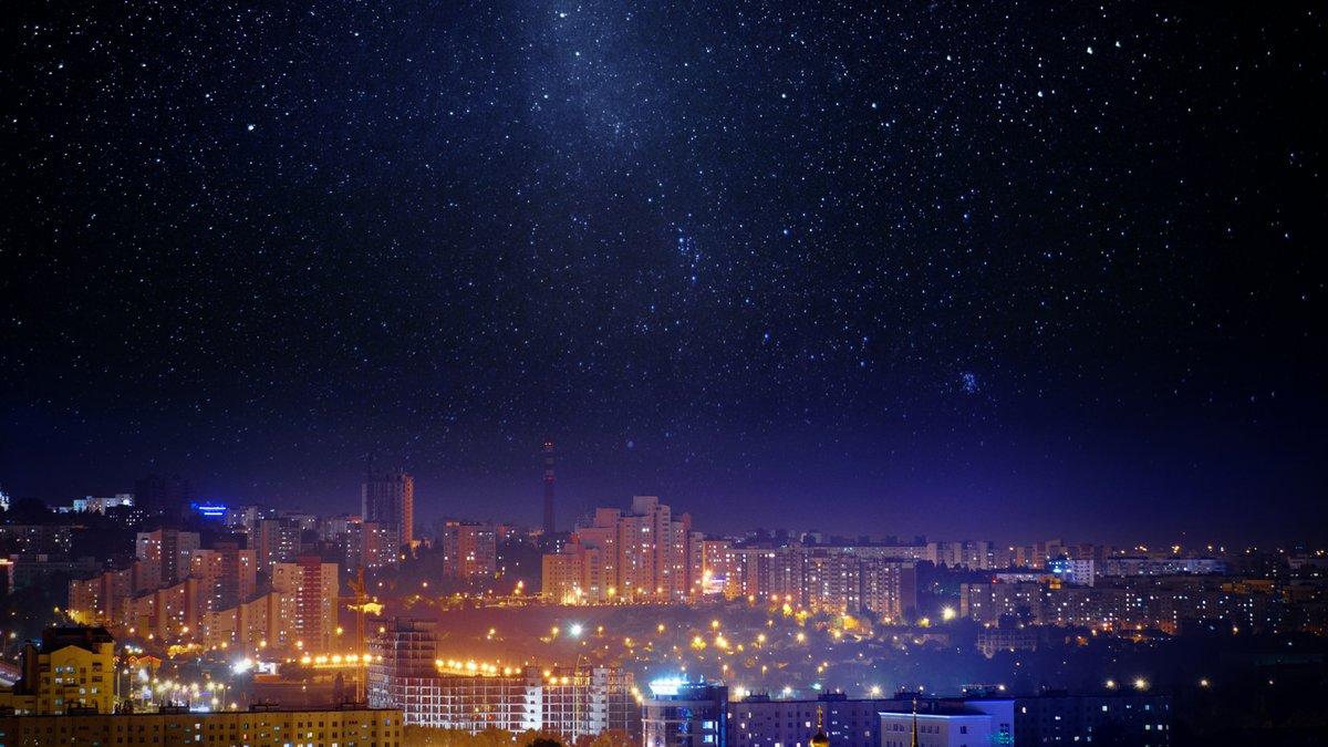 Ciel nuit ville