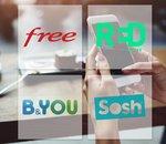 🔥 Free mobile, RED by SFR, B&You, ou Sosh, quel est le meilleur forfait ?