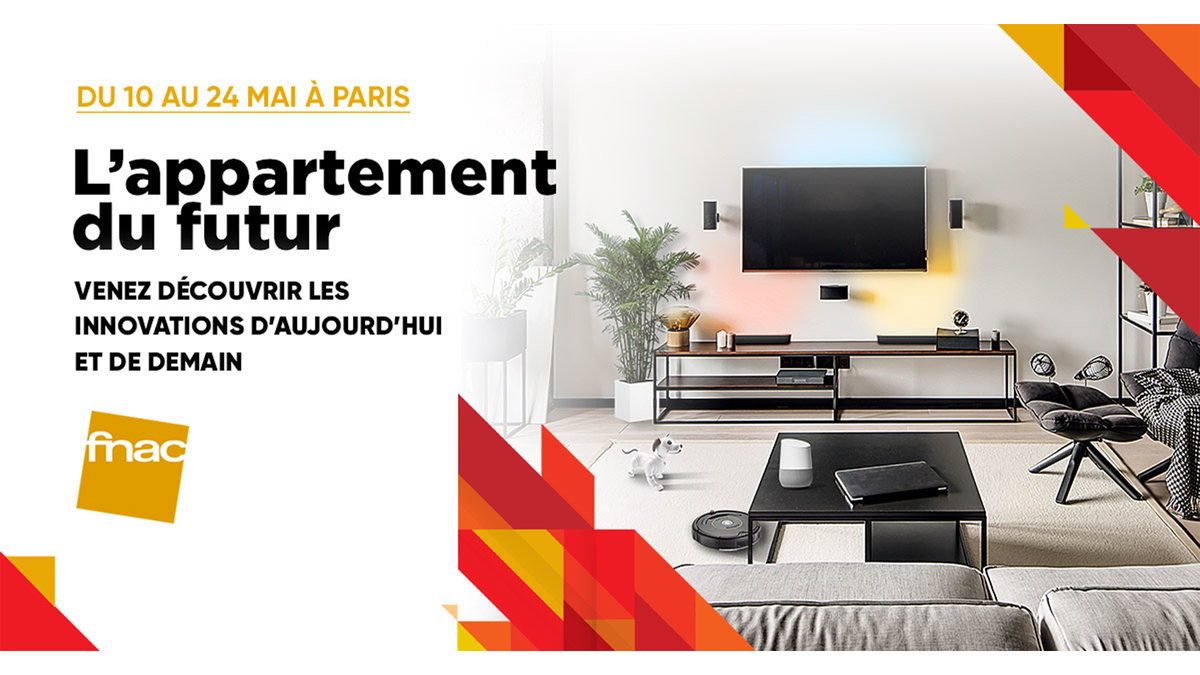 Element Pilier Leroy Merlin fnac-darty lance son appartement du futur, un lieu immersif