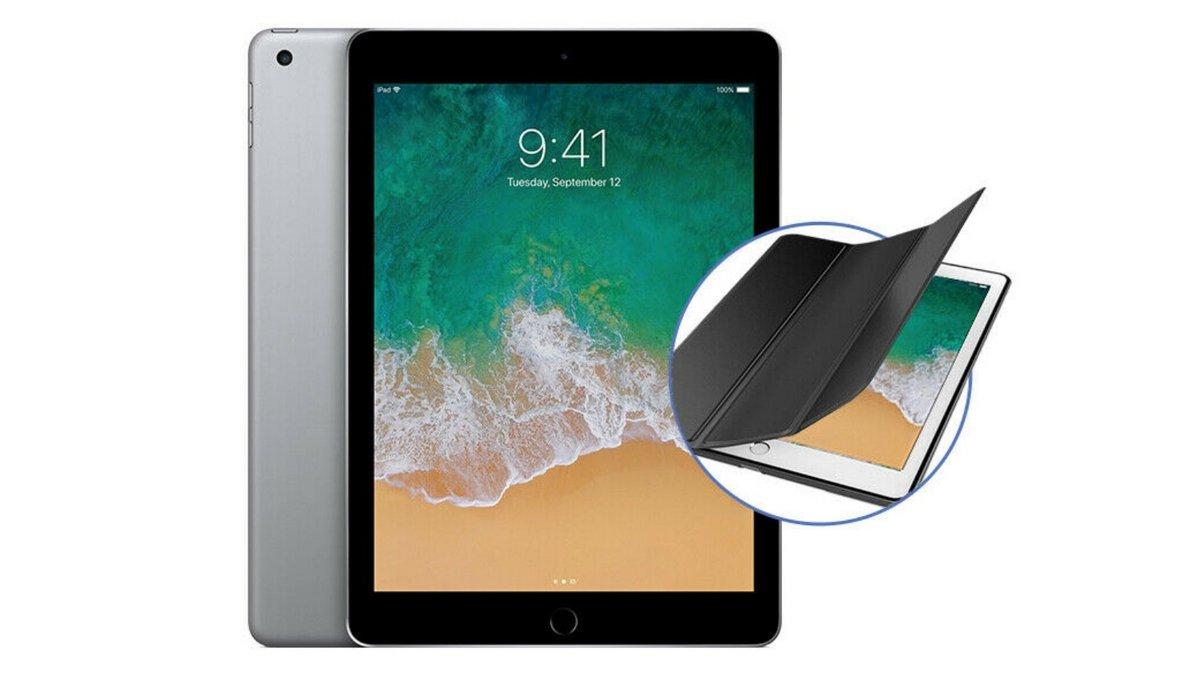 iPad + housse