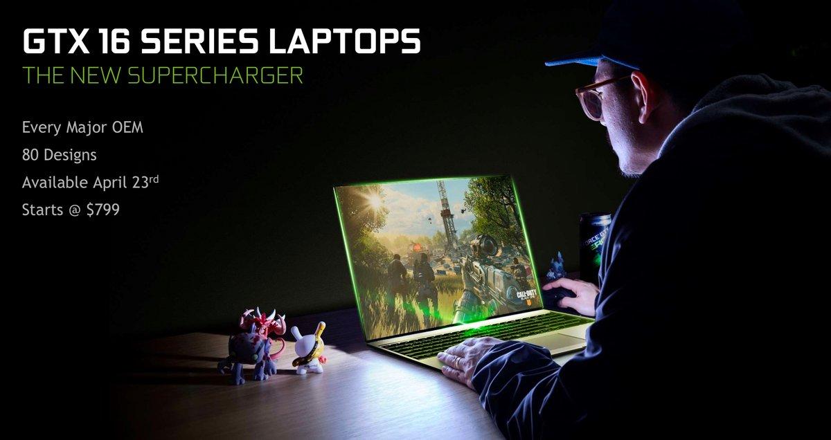 Nvidia GTX laptops