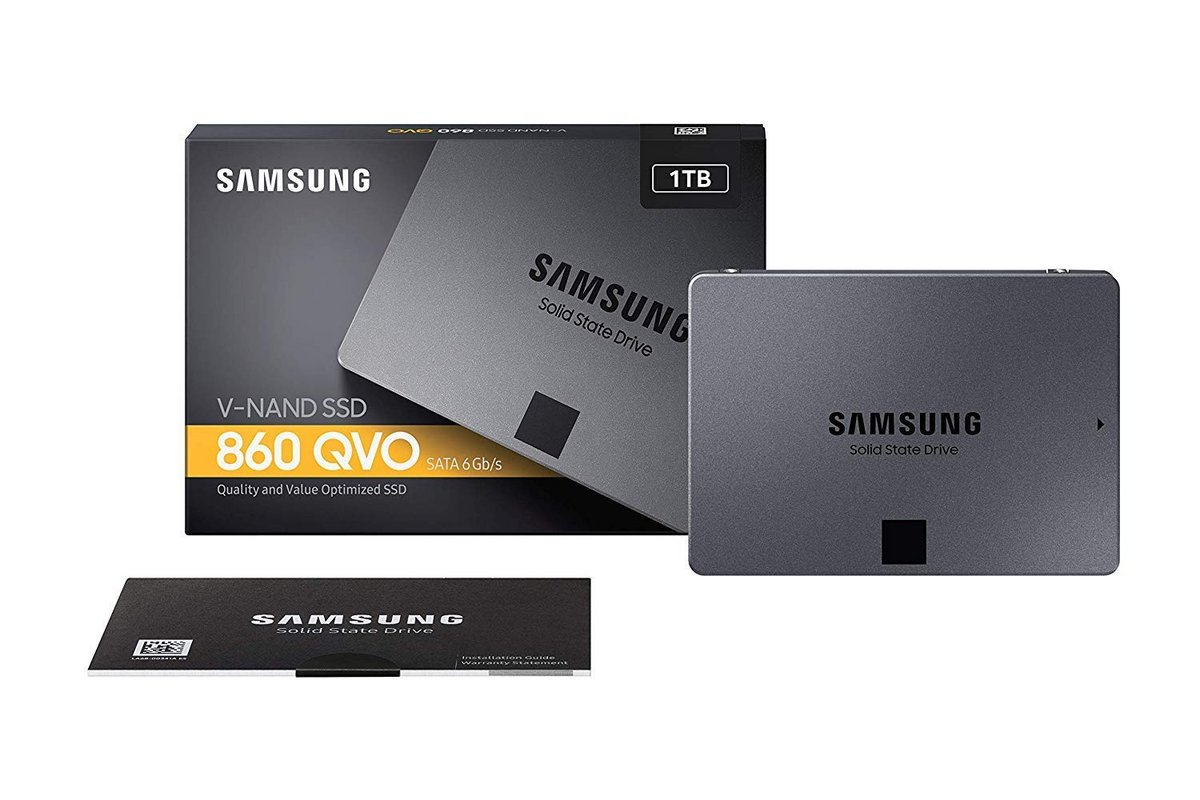 SSD Samsung 860 QVO