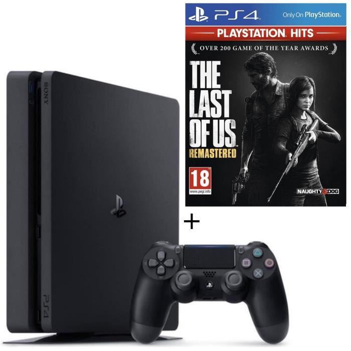 Pack PS4 + The Last of Us