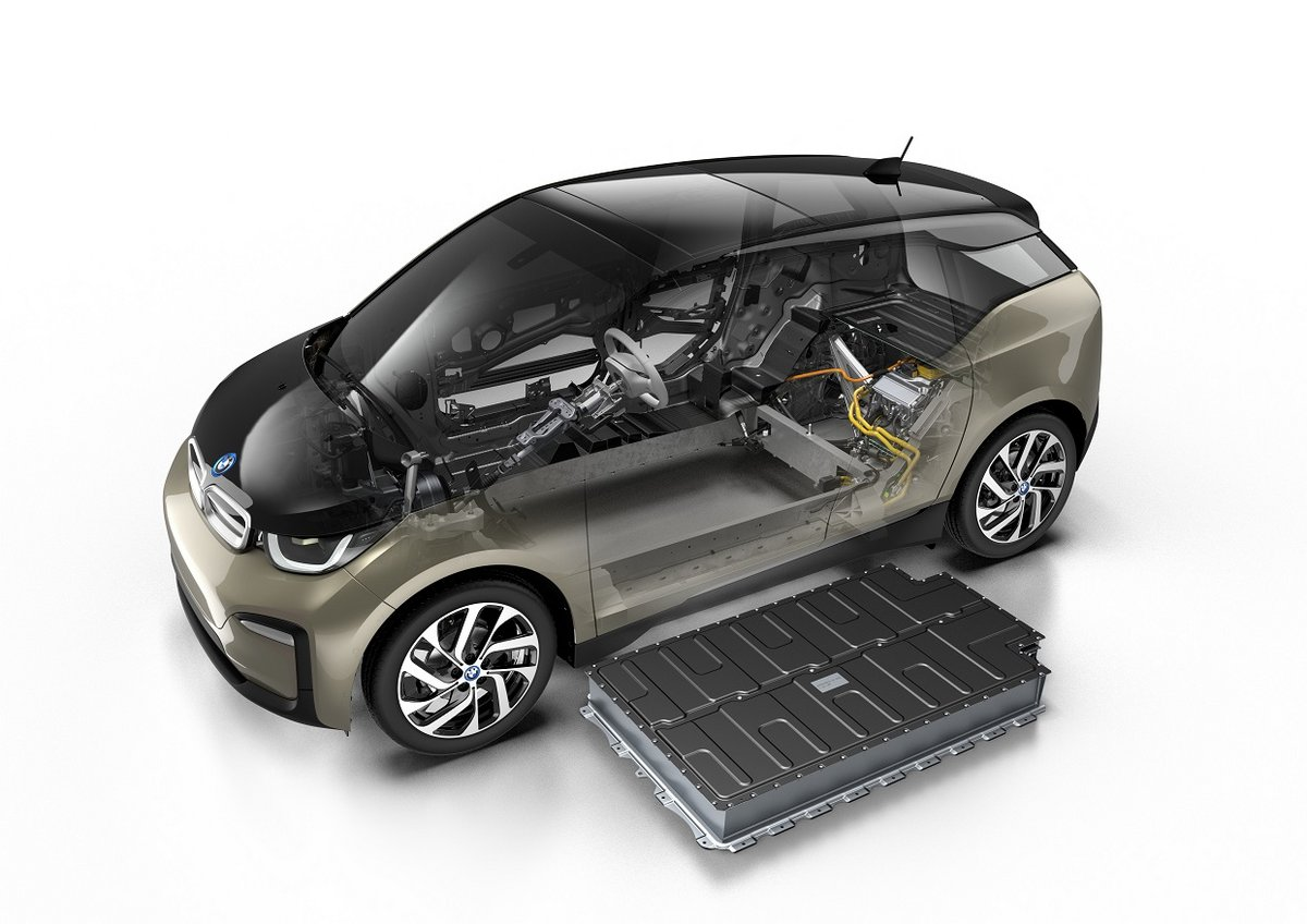 BMW i3 batteries
