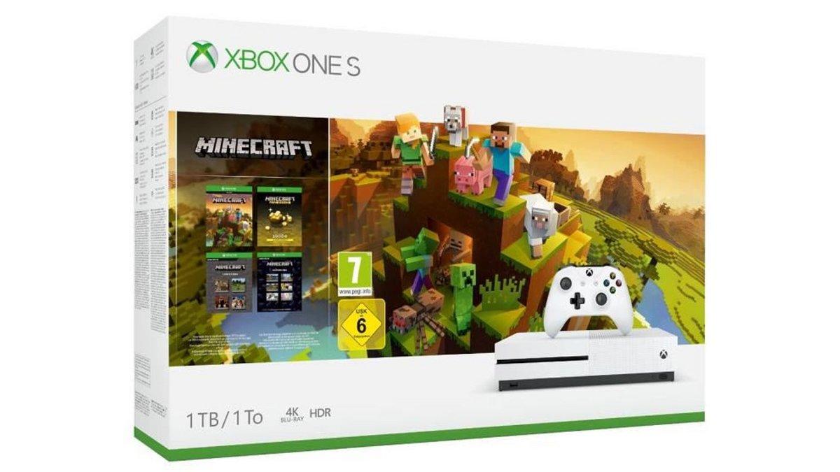 French Days La Xbox One S 1 To Minecraft Creators à 169