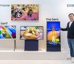 Samsung a conçu un téléviseur à écran orientable... pour les vidéos au format vertical