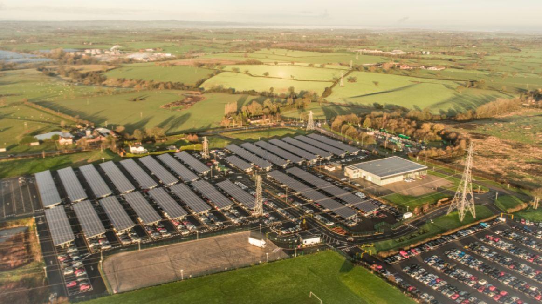 Bentley Motors parc solaire