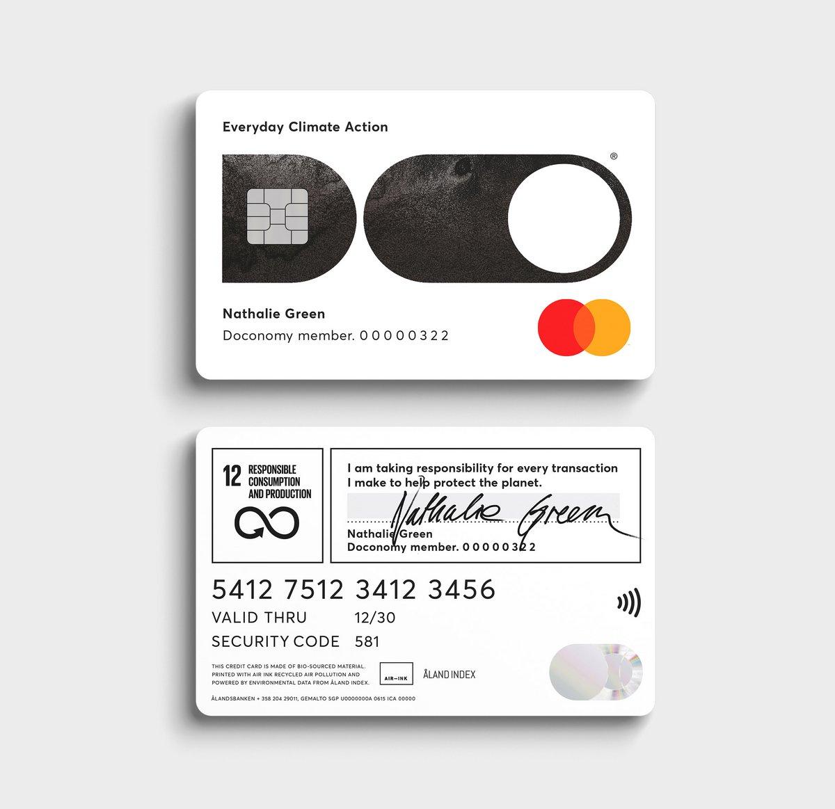 Doconomy Do Card