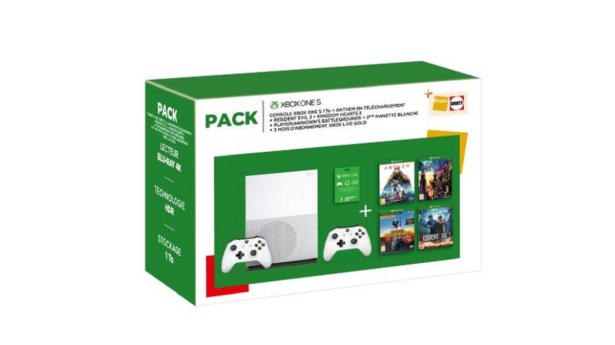 Pack Xbox One S Fnac