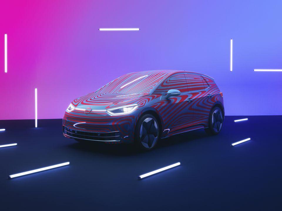 L'intérieur de l'ID.3 de Volkswagen se montre en vidéo