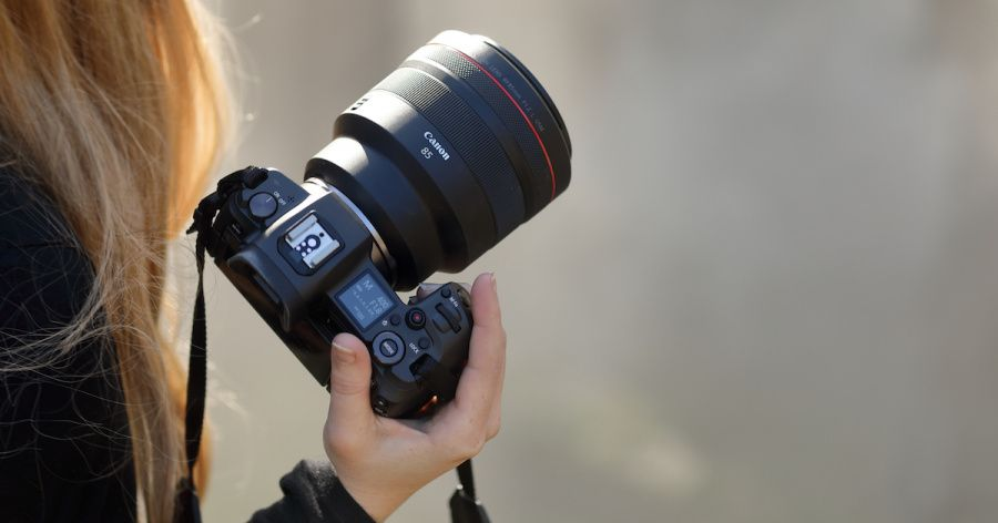 Canon 85 mm f1.2