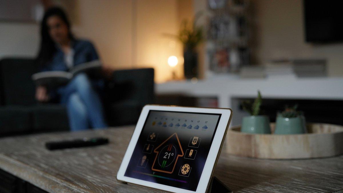 Domotique thermostat connecte
