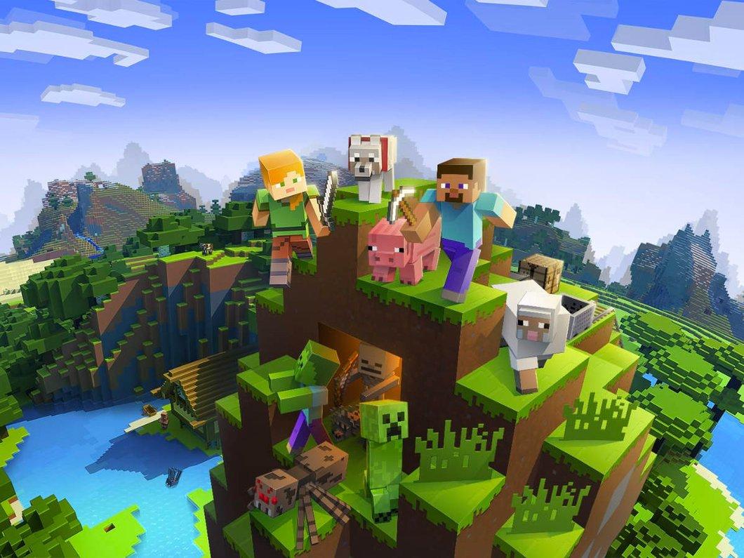 Minecraft, toujours aussi populaire, dépasse les 112 millions de joueurs mensuels