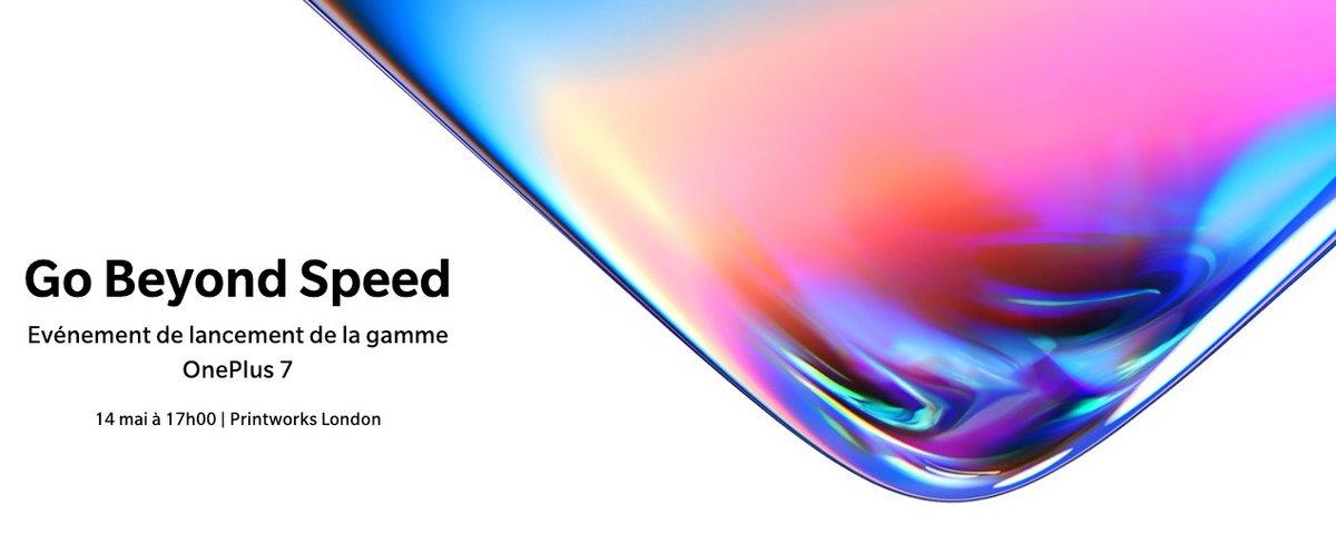 OnePlus 7 lancement