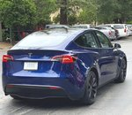 Une Tesla Model Y repérée en Californie