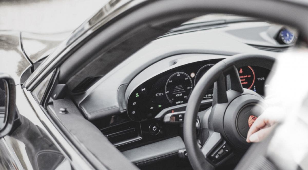 Porsche Taycan intérieur