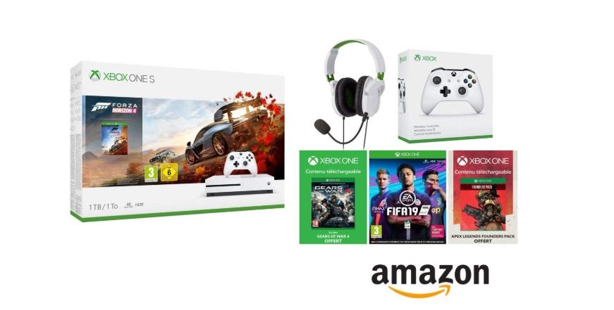 Pack Xbox One S Amazon