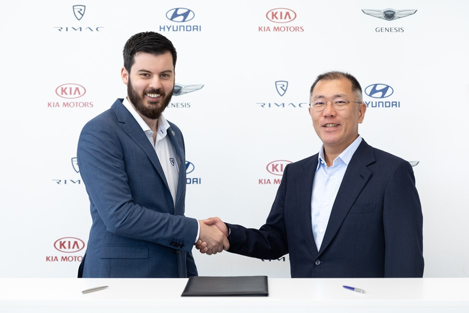 Rimac et Hyundai