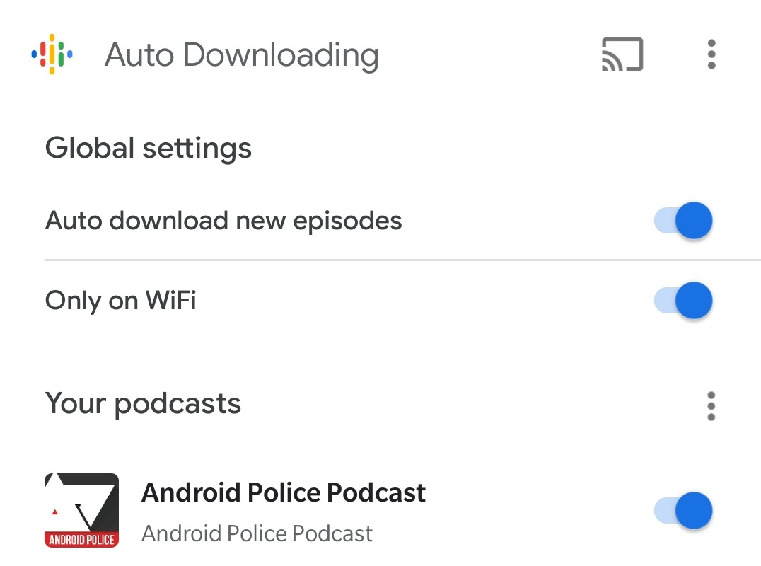 Google Podcasts Téléchargement