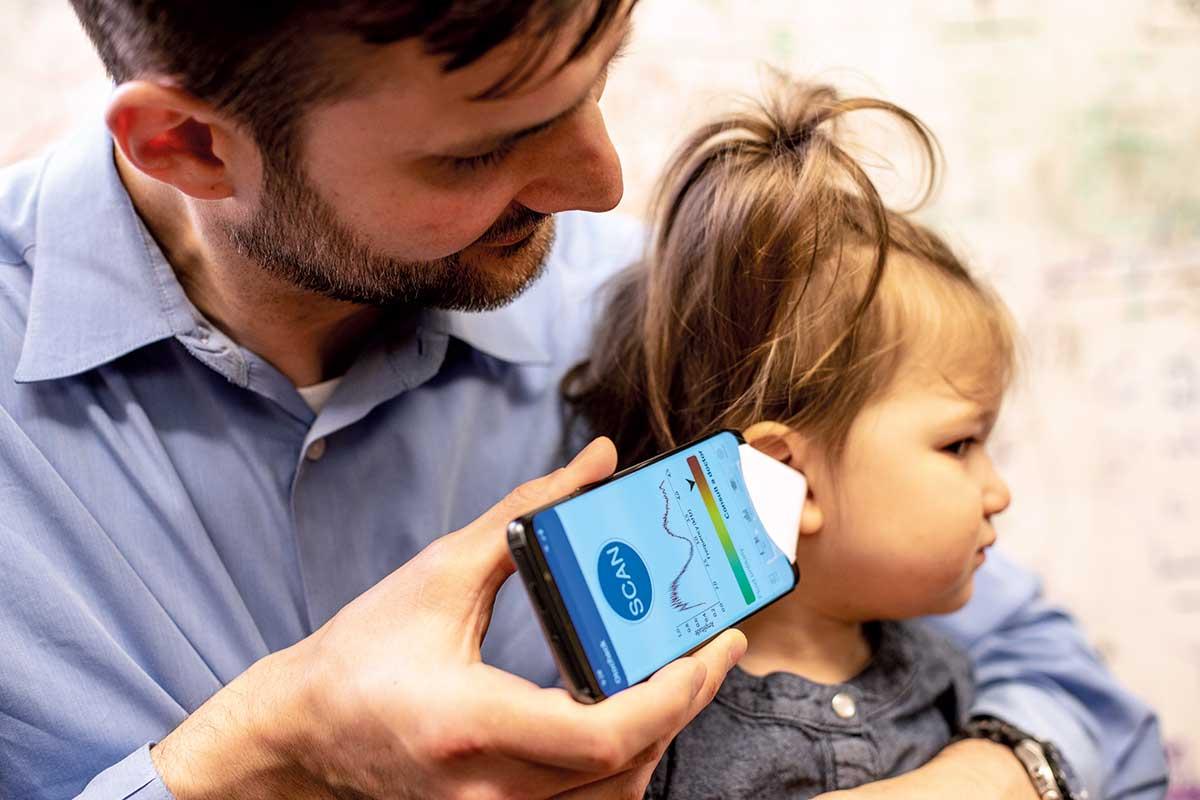 Application mobile détecter otite