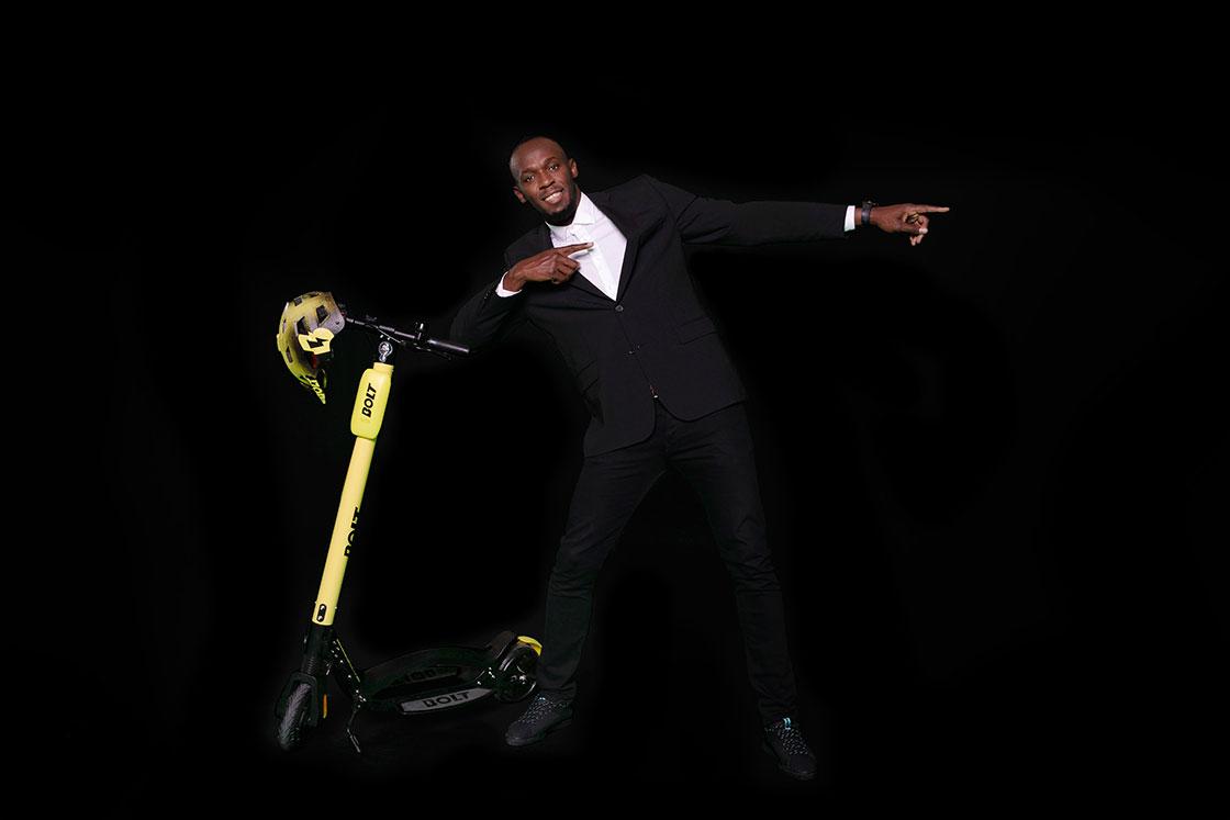 Usain Bolt Mobility trottinettes électriques