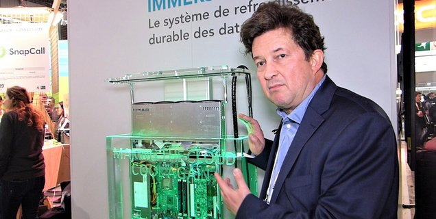 VivaTech 2019 : Immersion 4 présente son système de refroidissement pour data centers