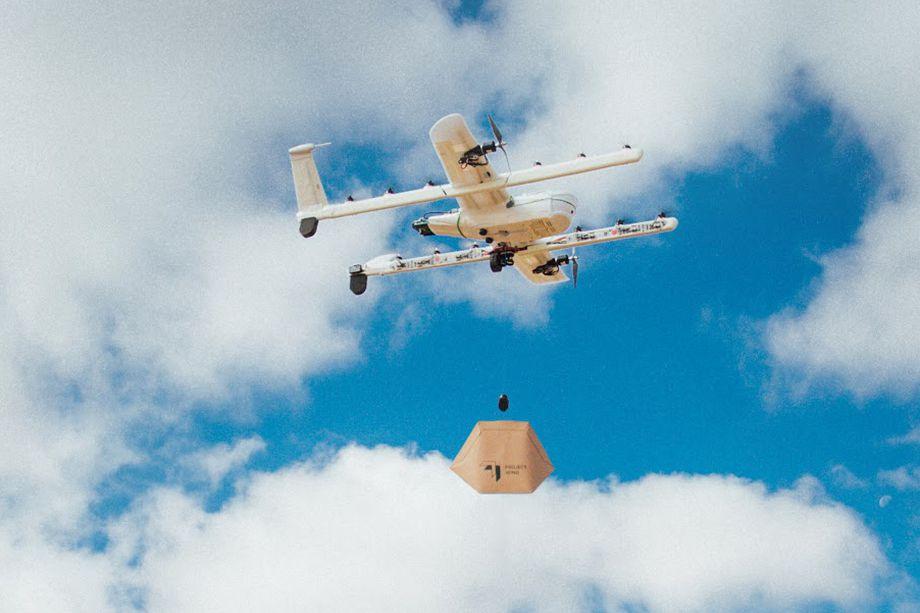 Covid-19 : les livraisons par drone s'envolent dans les zones de test (papier toilette aéroporté)