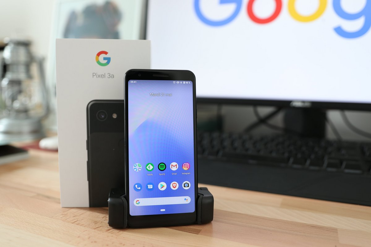 Google Pixel 3a test