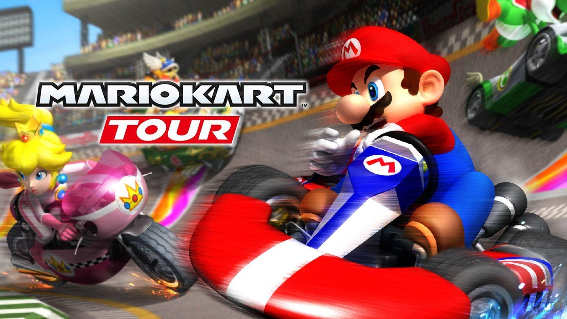 Mario Kart Tour : l'opus mobile dévoile une partie de son contenu via sa bêta