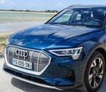 L'Audi e-tron obtient 5 étoiles au test Euro NCAP