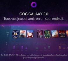 GOG Galaxy passe la seconde : meilleures performances et recherche globale sont au menu