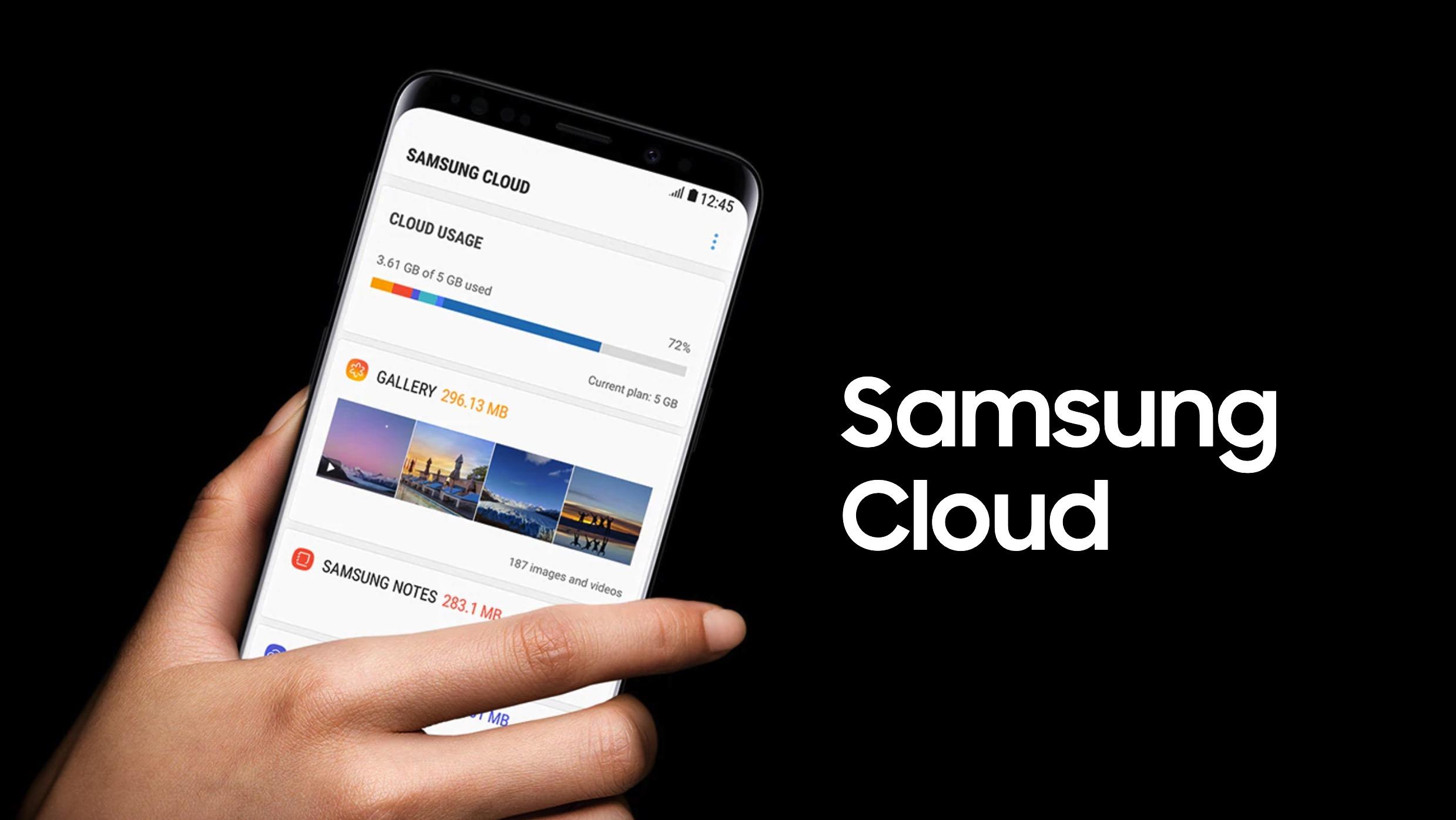 Le stockage gratuit de Samsung Cloud passe de 15 à 5 Go