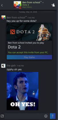 Steam Chat