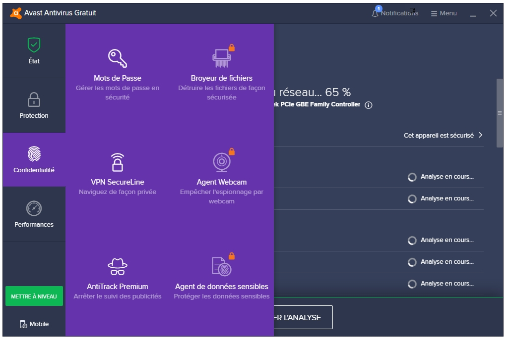 Avast Antivirus Gratuit 2019