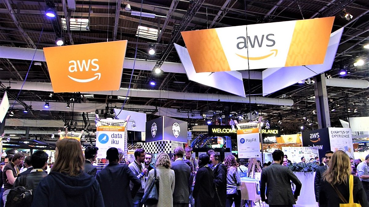 Stand AWS VivaTech 2019