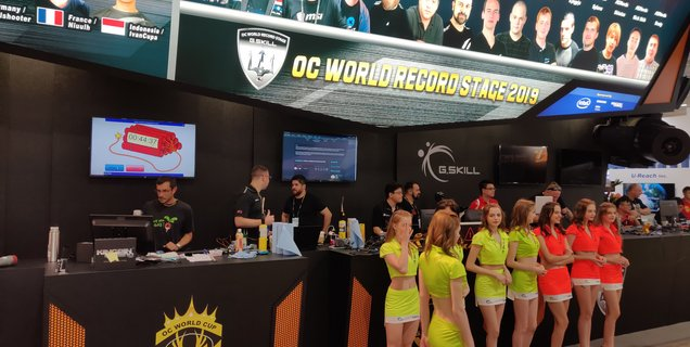 COMPUTEX 2019 - Championnat du monde d'overclocking