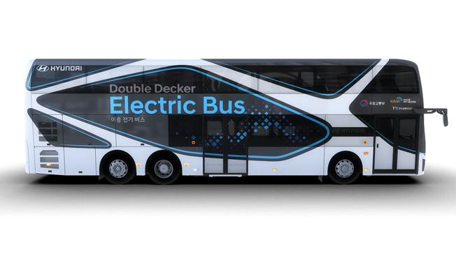 Hyundai bus impérial électrique