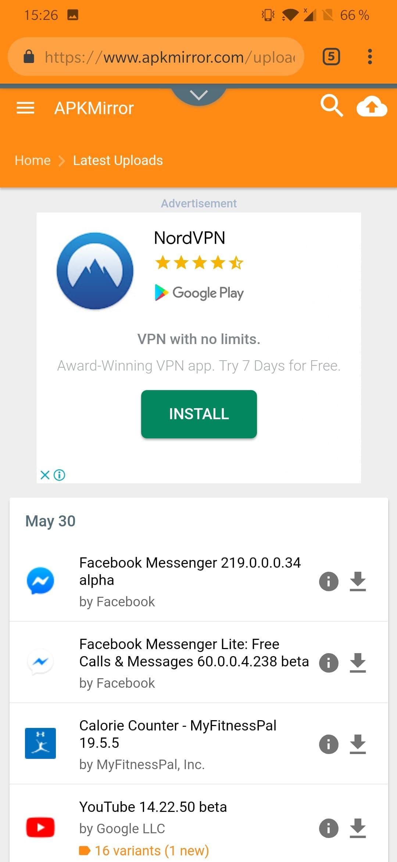 Télécharger APK Mirror pour Android : téléchargement gratuit !