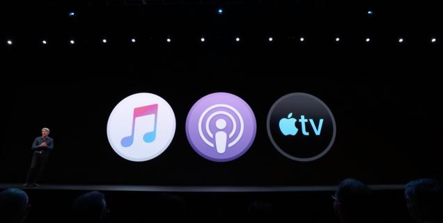 WWDC 2019 : iTunes est mort, vive Apple Music, Podcasts et Apple TV