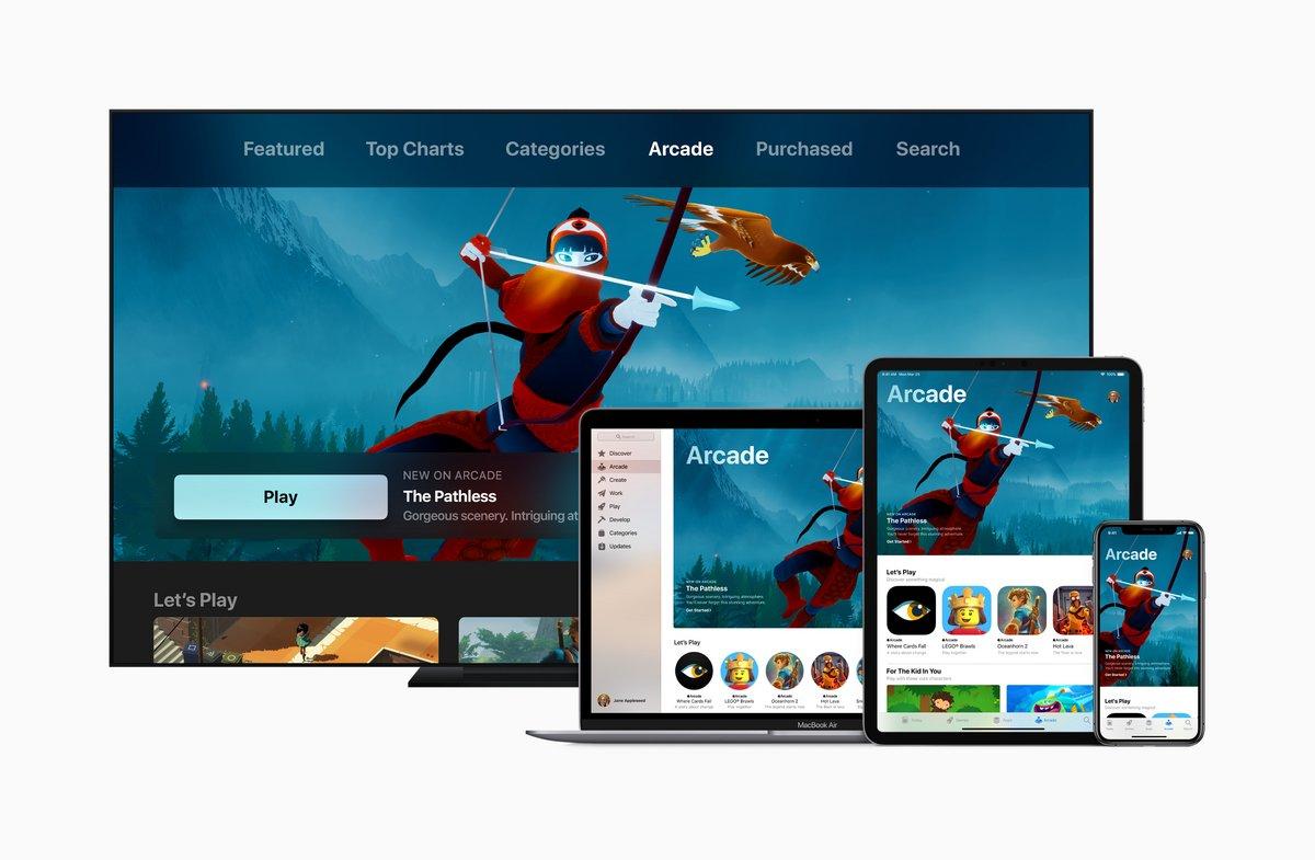 tvOS 13 Apple Arcade